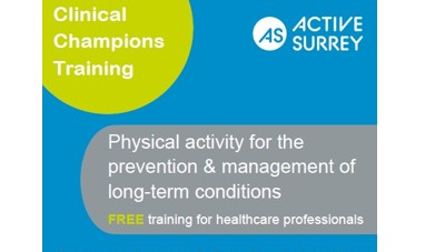 Physical activity champs training
